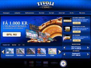 De nieuwe casino-site van Tivoli Gardens