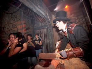 Een Haunted House in Universal Studios