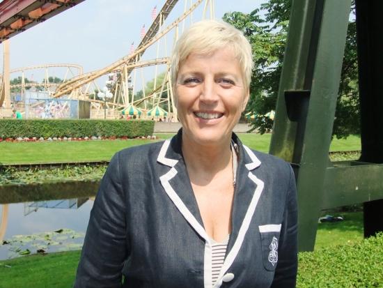 Directeur Angelique Klar van Attractiepark Slagharen - Foto: Adri van Esch, Parkplanet