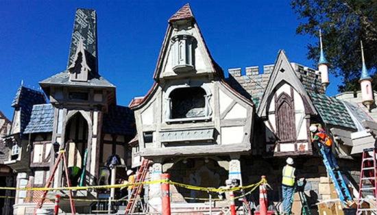 Eind januari: de bouw vordert goed - Foto: Disney