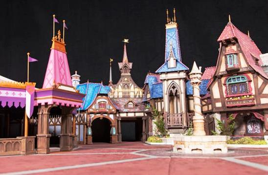 Maquette van Fantasy Faire - Foto: (c) Disney