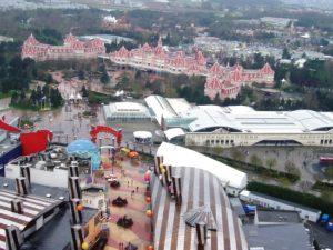 Het Disneyland Resort Paris vanuit de lucht - Foto: (c) Adri van Esch, Parkplanet