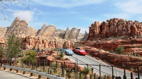 Radiator Springs Racers in Disney's California Adventure - Foto: (c) Disney