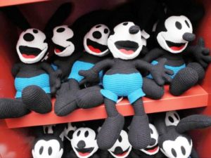 Knuffels van Oswald the Lucky Rabbit - Foto: (c) Disney