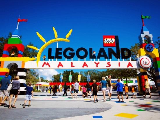 De ingang van Legoland Malaysia