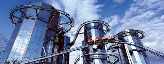 Draaiende achtbaan EuroMir in Europa-Park