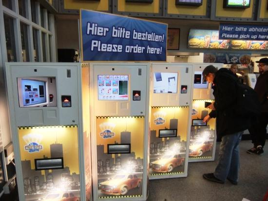 De Smart Kiosk in Movie Park Germany - Foto: (c) Adri van Esch, Parkplanet