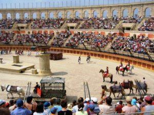 Romeinse show in Puy du Fou - Foto: Arena Jacksim