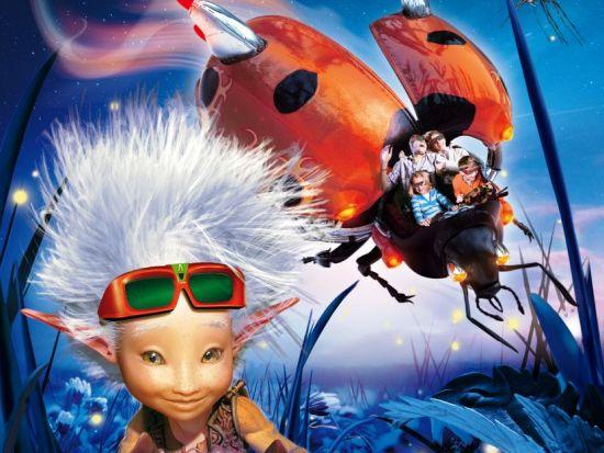 Arthur l'Aventure 4D - © Futuroscope - EuropaCorp - TF1 Films Production - Apipoulaï Prod - Avalanche Productions - Images et Effets 3D: BUF
