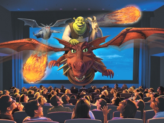 Shrek 4D in de Universal Studios filmparken