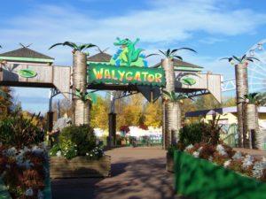 De ingang van Walygator - Foto: jony54