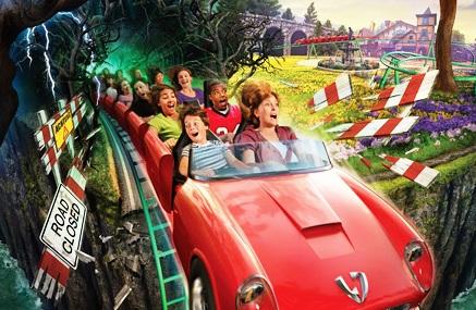 Achtbaan Verbolten in Busch Gardens Europe