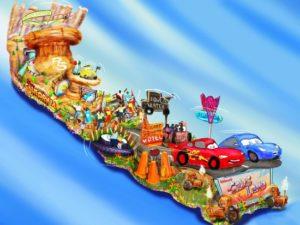 De optochtwagen van Disney in de Rose Parade in Pasadena - Beeld: (c) Disney