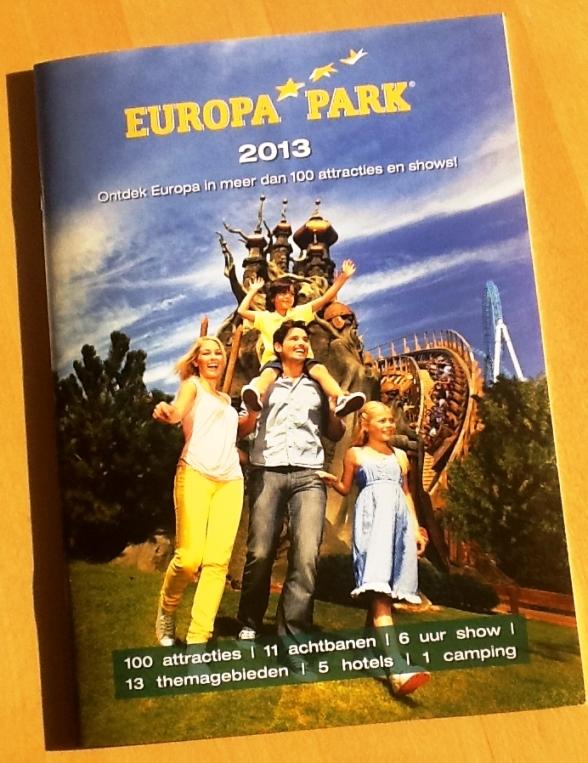 De nieuwe brochure van Europa-Park