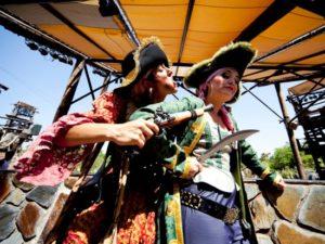 Piratenshow in Isla Mágica - Foto Turismo de Sevilla