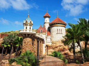 Het nieuwe kasteel van de Kleine Zeemeermin - Foto: (c) Disney, Gene Duncan