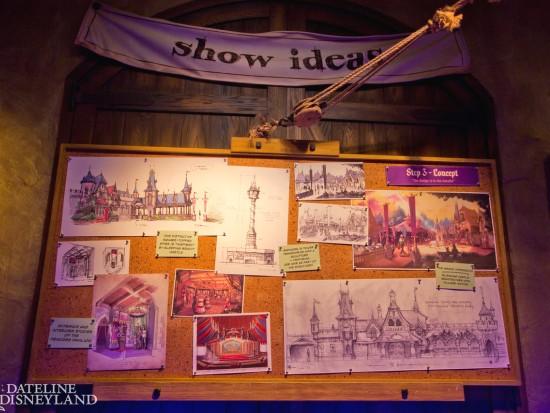 Ontwerpschetsen voor Fantasy Faire - Foto: Micechat.com
