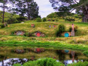 Het filmdecor van The Hobbit en Lord of the Rings - Foto: Don Shearman