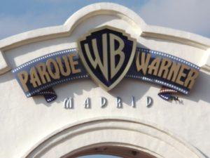 De ingang van Parque Warner - Foto: Contafisca