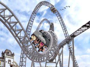 De nieuwe loopingbaan van Erlebnispark Tripsdrill
