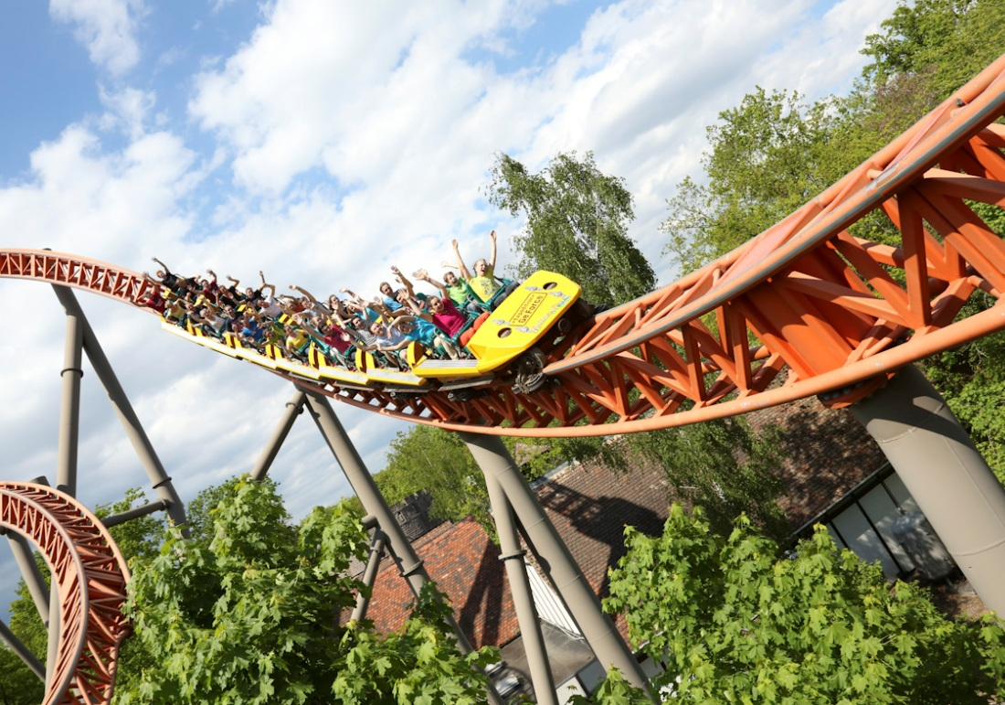 Holiday Park Expedition GeForce Trein 15pers
