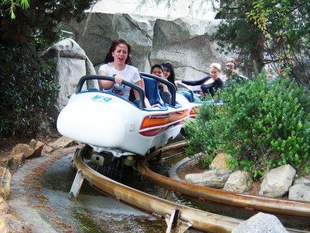 De Matterhorn Bobs in Disneyland Anaheim - Foto: Loren Javier