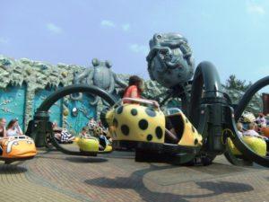 Octopus in Attractiepark Slagharen - Foto: (c) Parkplanet