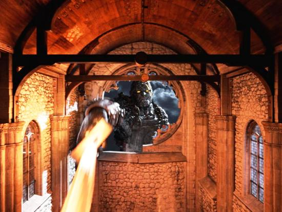Een 3D-scène in Thors Hammer in Tusenfryd