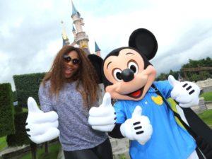 Serena Williams te gast in Disneyland Paris - Foto: (c) Disney