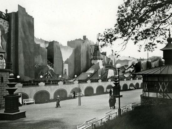 Zo zag achtbaan Bergbanan er van 1934 tot 1947 uit - Foto: Liseberg