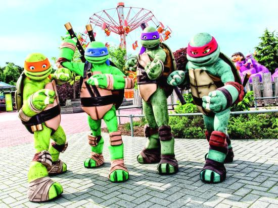 De Teenage Mutant Ninja Turtles krijgen een eigen verkeersschool in Movie Park Germany
