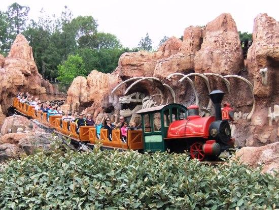 Big Thunder Mountain in Disneyland Californië - Foto: (c) Adri van Esch, Parkplanet