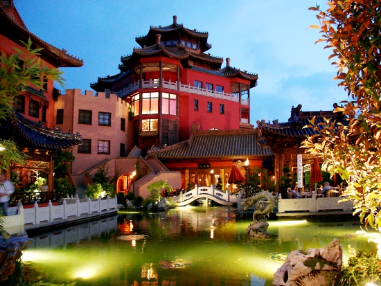 Hotel Ling Bao in Phantasialand
