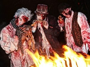 Zombies in Movie Park Germany