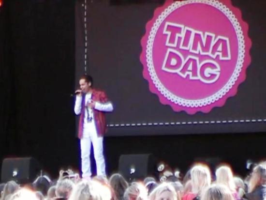 Optreden van Jeronimo op de Tina-dag in Duinrell - Beeld: YouTube