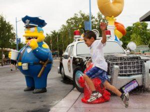 Het nieuwe Simpsons-gebied in Universal Studios Florida