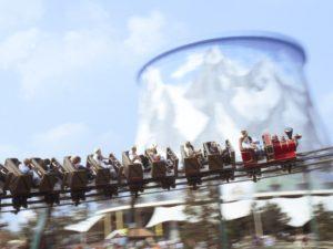 De achtbaan van Kernie's Familiepark