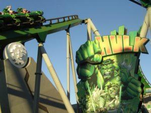 De Hulk-achtbaan in Islands of Adventure in Florida - Foto: (c) Adri van Esch / Parkplanet