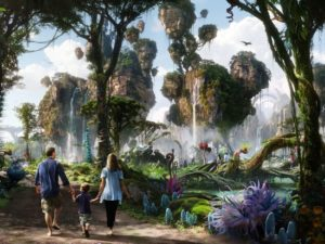 Artist impression van Avatar Land in Disney's Animal Kingdom - Beeld: (c) Disney