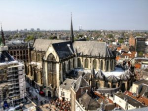 Met een virtuele paraglider boven Amsterdam zweven - Foto: Neil Melville-Kenney / Flickr c.c.