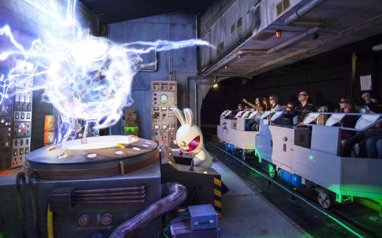 Lapins Crétins in Futuroscope - Foto: JL Audy - Ubisoft Entertainment