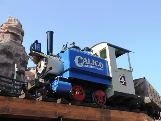 Calico Mine Ride in Knott's Berry Farm - Foto: Loren Javier