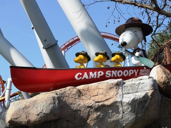 Camp Snoopy in Knott's Berry Farm - Foto: Loren Javier