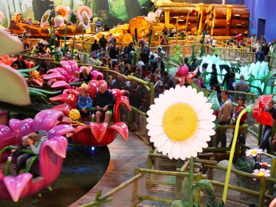 Mayaland, de indoor speelhal van Plopsaland De Panne - Foto: Plopsa
