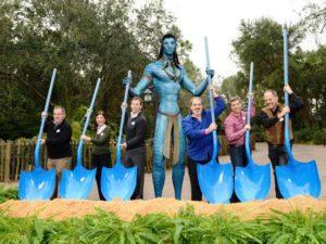 Groundbreaking van Avatar Land in Disney's Animal Kingdom - Foto: (c) Disney, David Roark