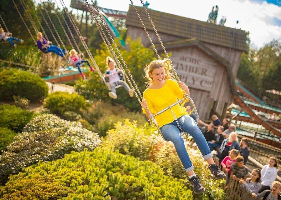 Zweefapollo in Attractiepark Slagharen