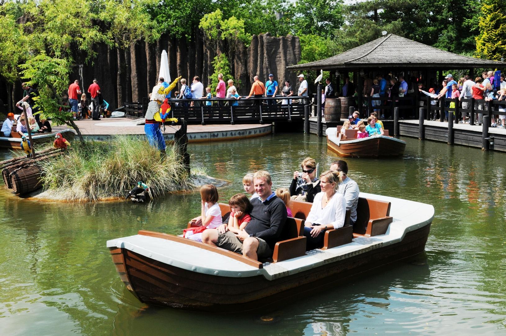 Pirate Boats in Legoland Billund