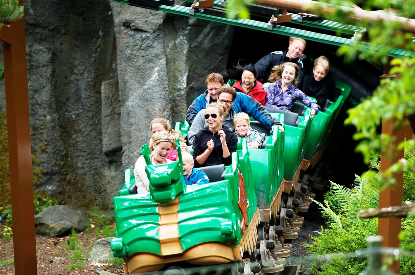 The Dragon in Legoland Billund