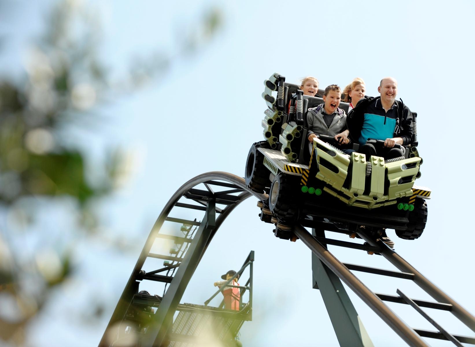 Xtreme Racers in Legoland Billund