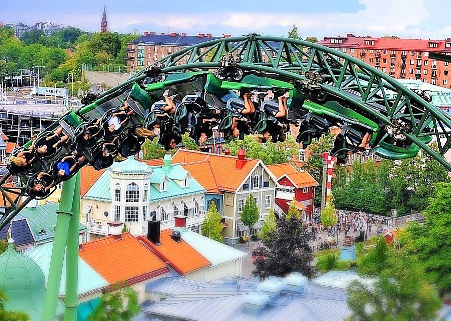 Achtbaan Helix in Liseberg – Foto: © Adri van Esch